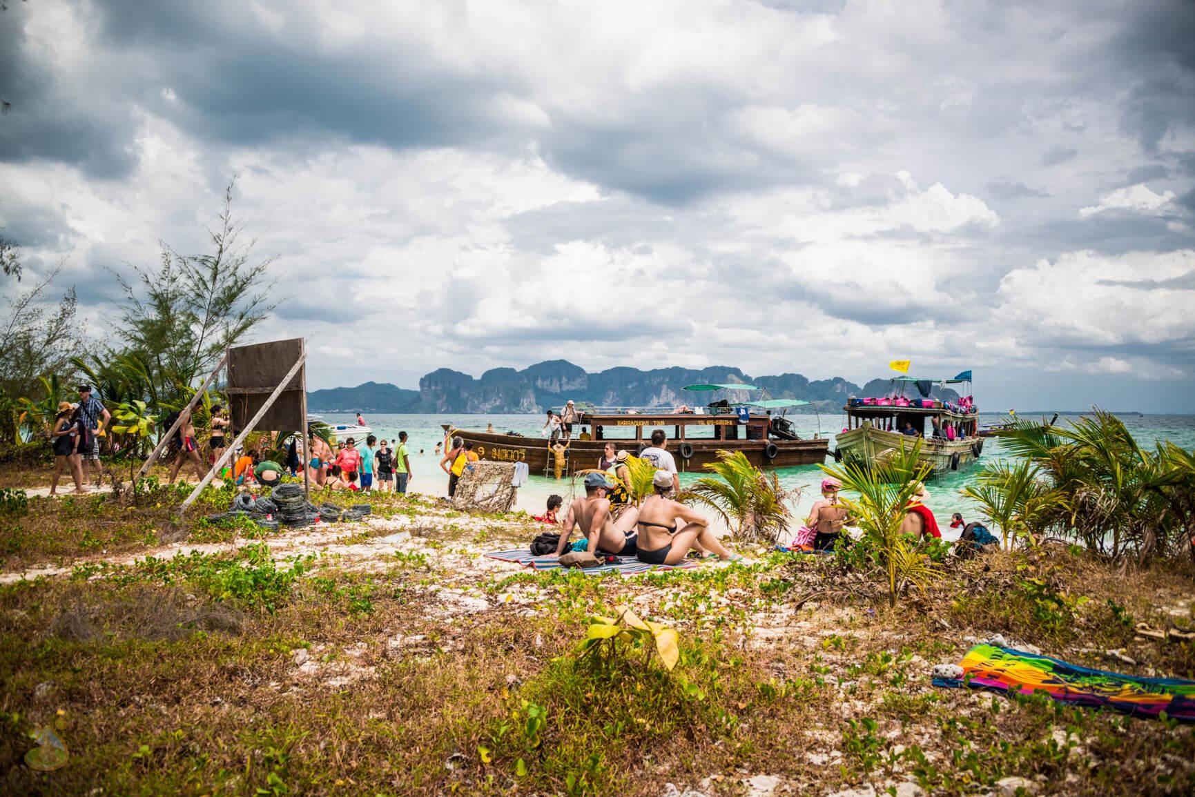 Koh Poda, фото на острове