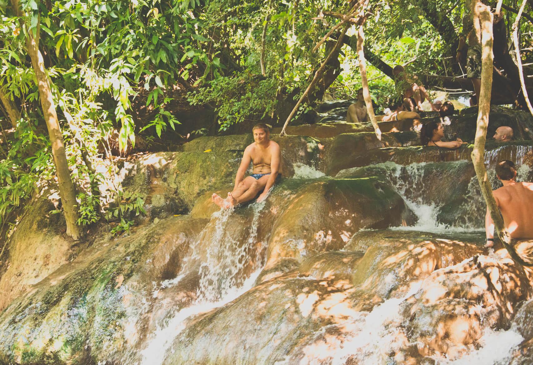 Hot Spring Waterfall Krabi