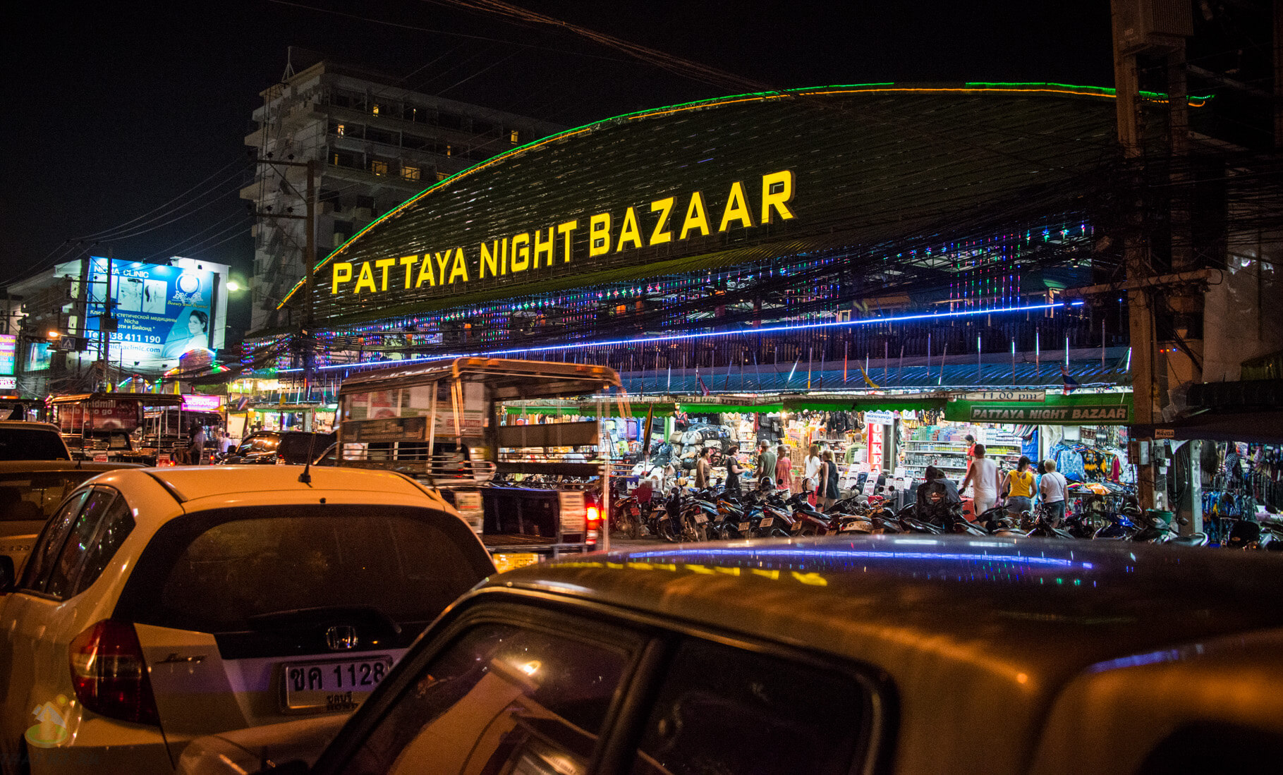 Ночной базар в Паттайе