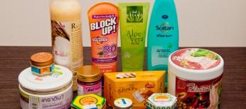 Покупка косметике в Тайланде 2013