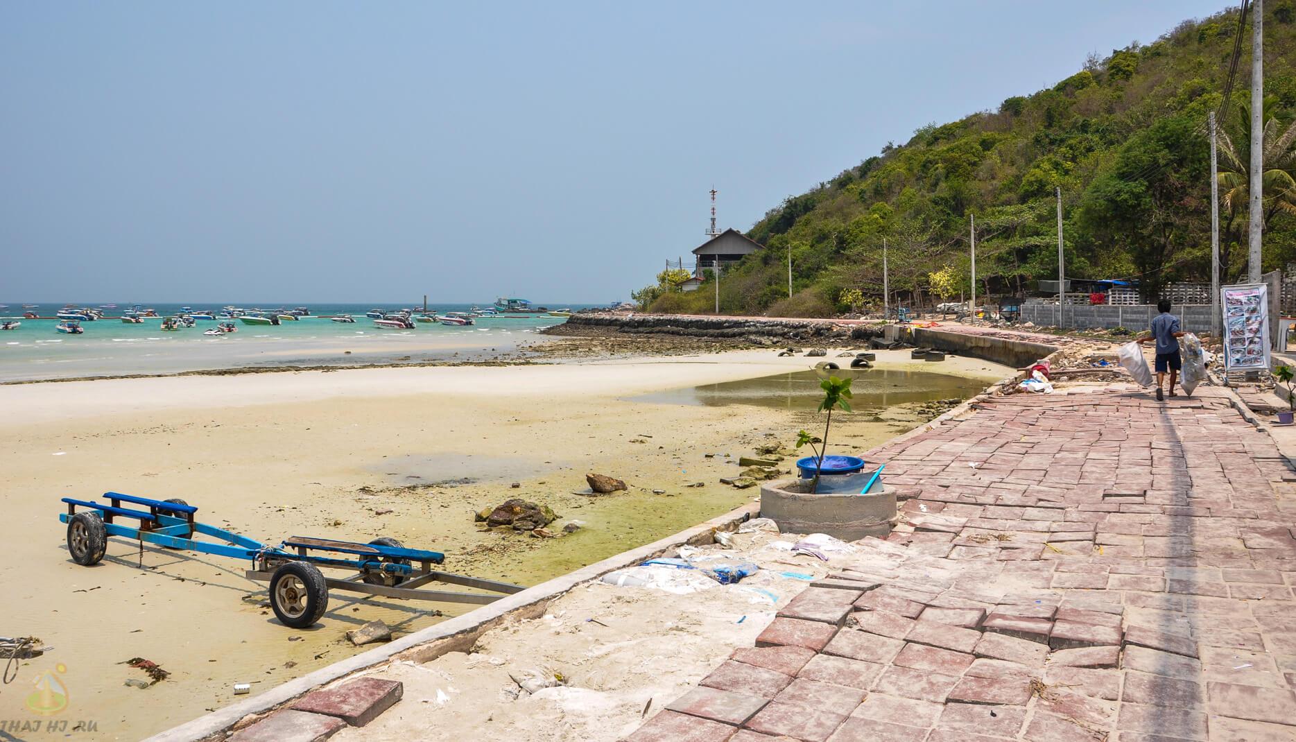 Дорога вдоль острова Ко Лан - фото