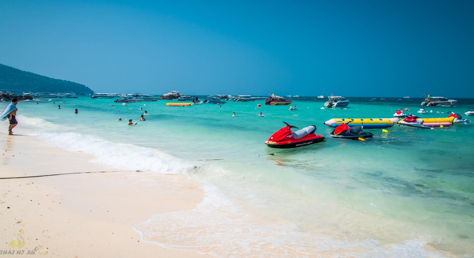 Пляж Tonglang Beach на Ко Лане - фото