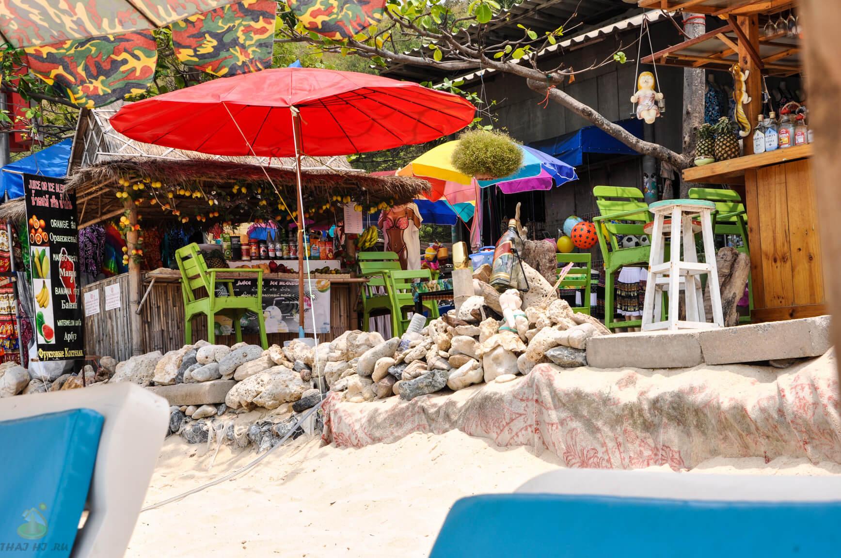 Рестораны на Tonglang Beach - фото