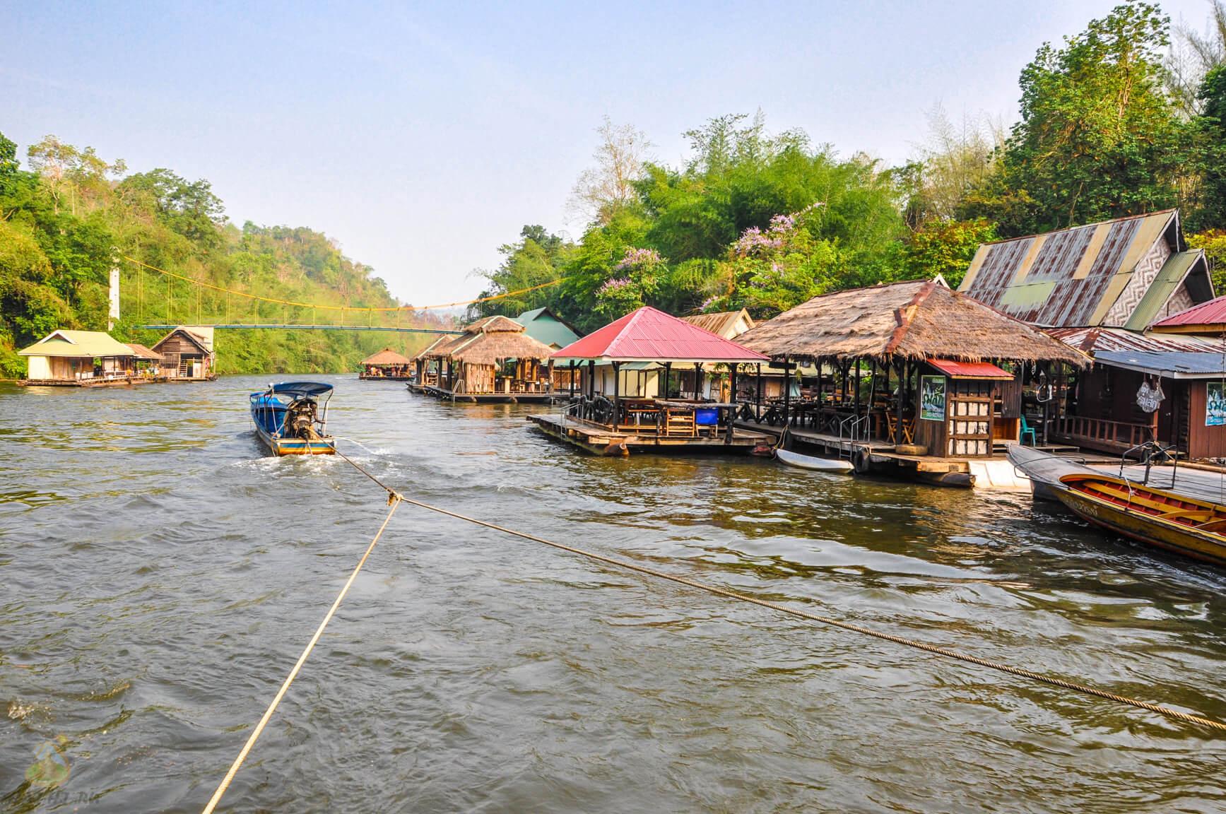 Фото на реке Квай день 2