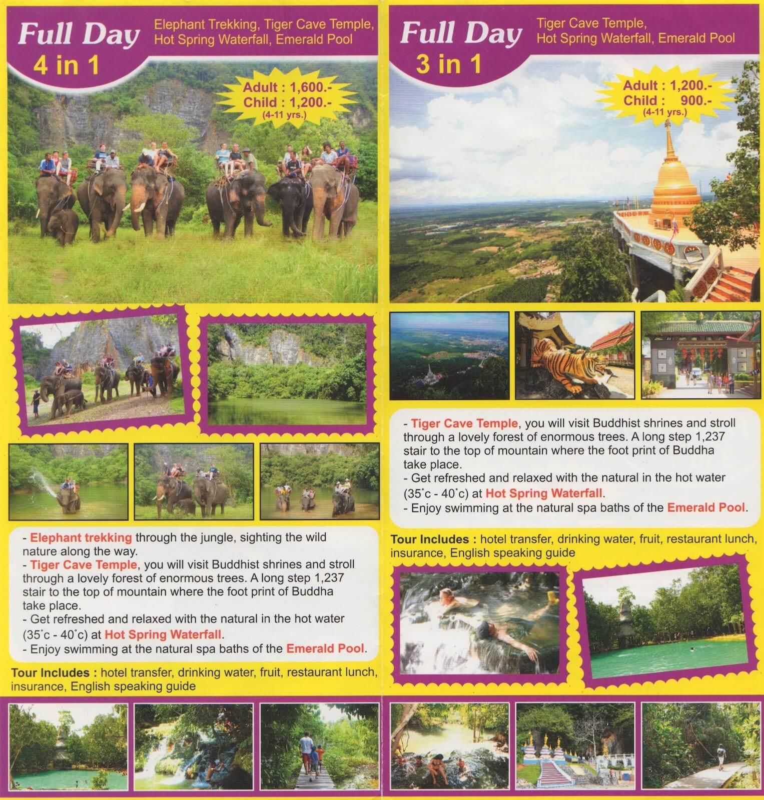Экскурсии в Ао Нанг, цены