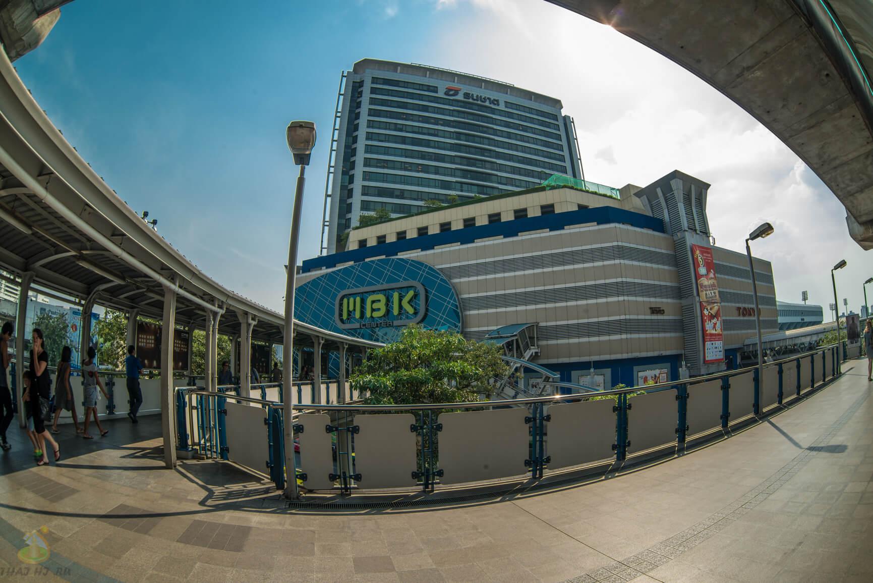 Как найти MBK в Бангкоке