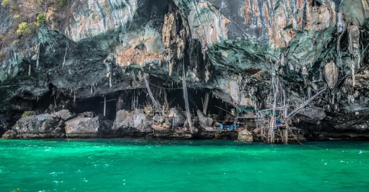 "Пещера ""Викинга"" на острове Phi Phi"