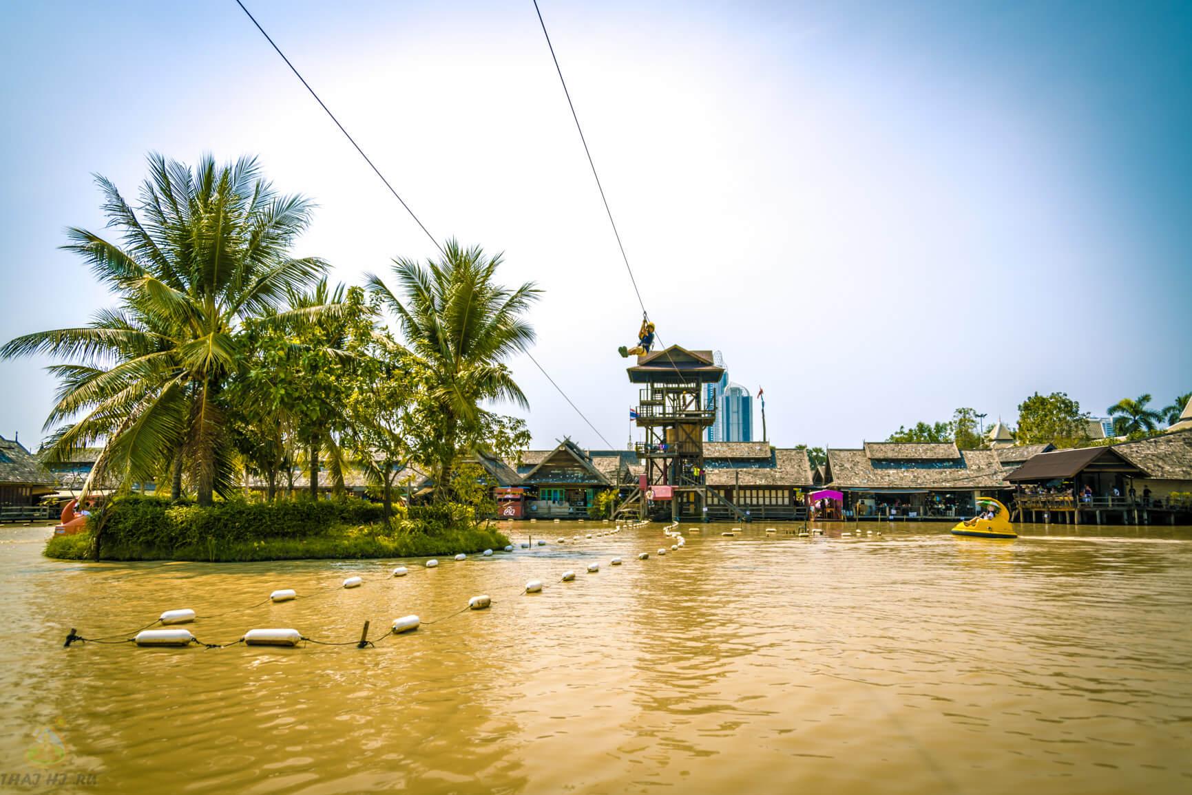 Водоем в Паттайе на рынке
