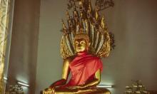 Статуя в Храме Лежащего Будды