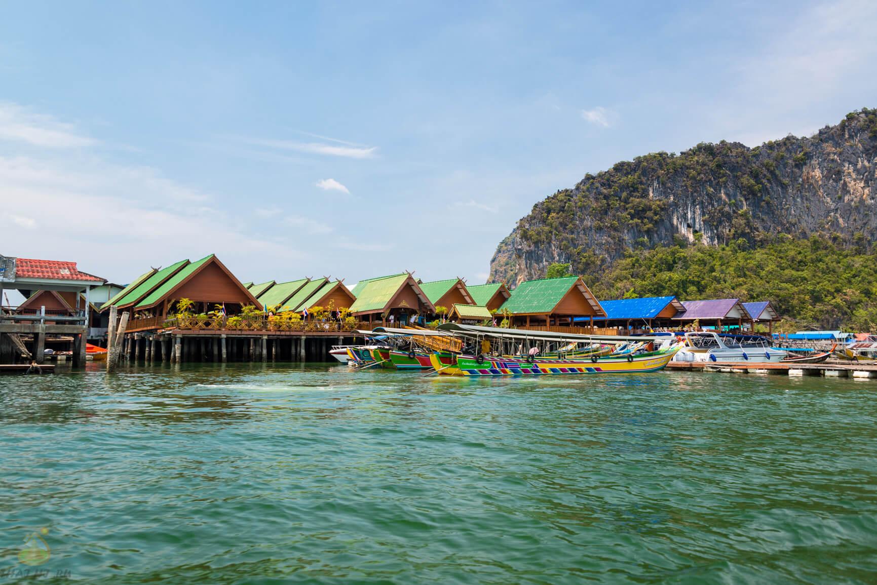 Плавучая Деревня (Floating Village) в Тайланде