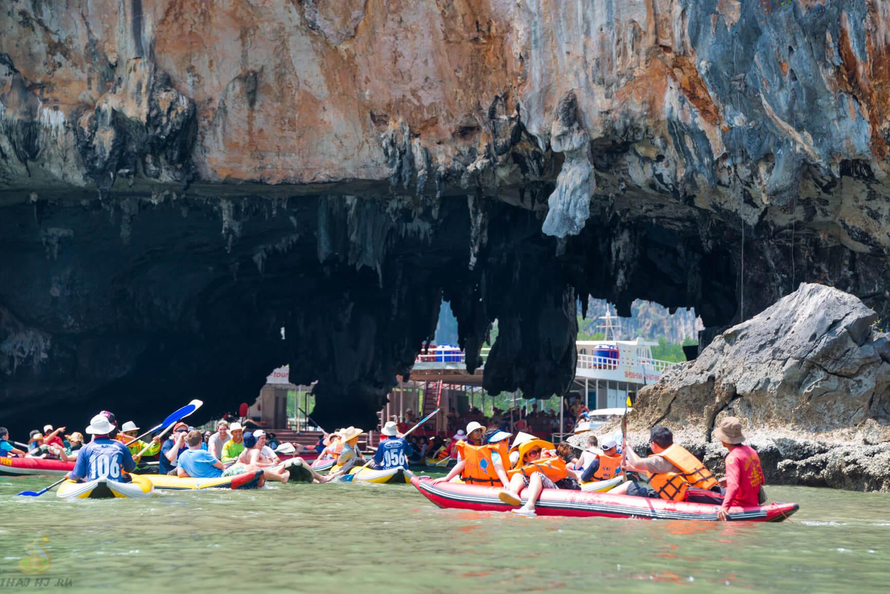 Каноинг в заливе Пханг Нга с Пхукета