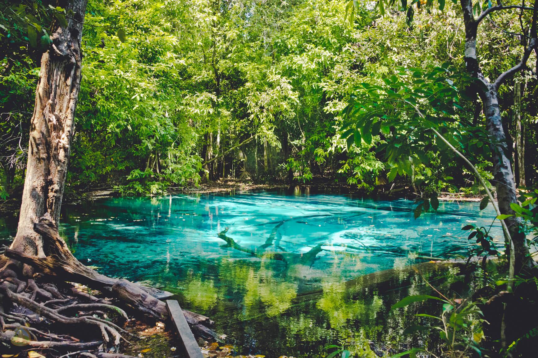 Голубое Озеро в Краби (джунгли)
