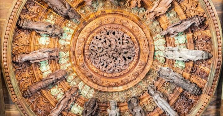 Храм Истины в Паттайе на видео