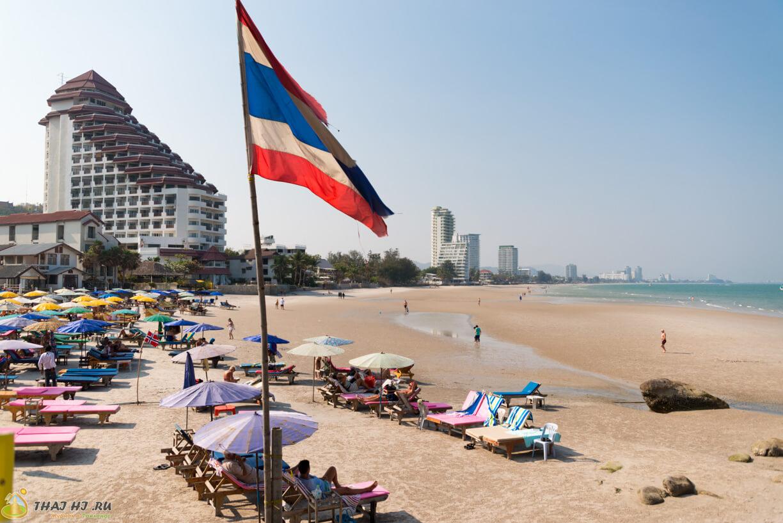 Пляж в Хуа Хине - Такиаб