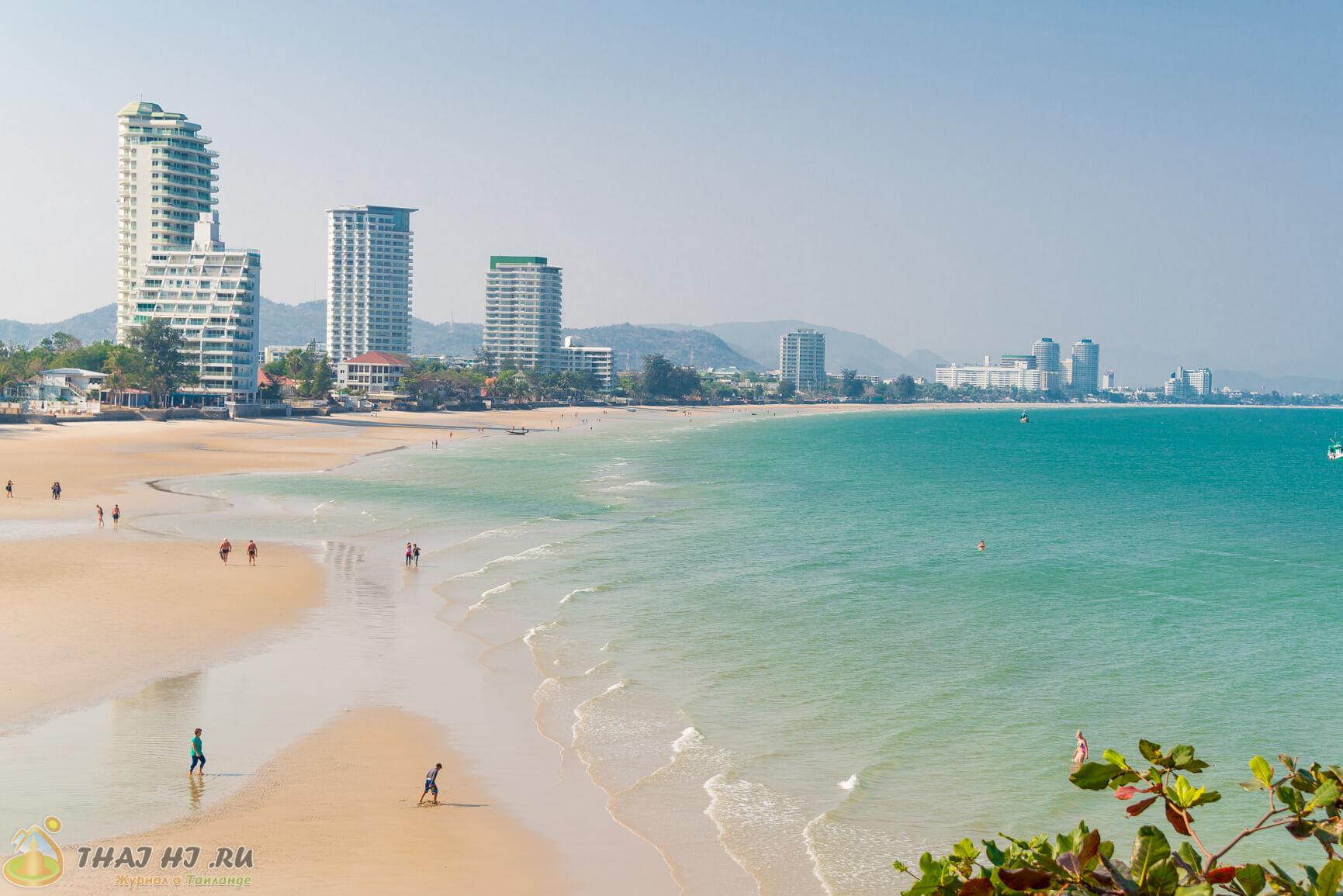 Пляж Хуахина - фото
