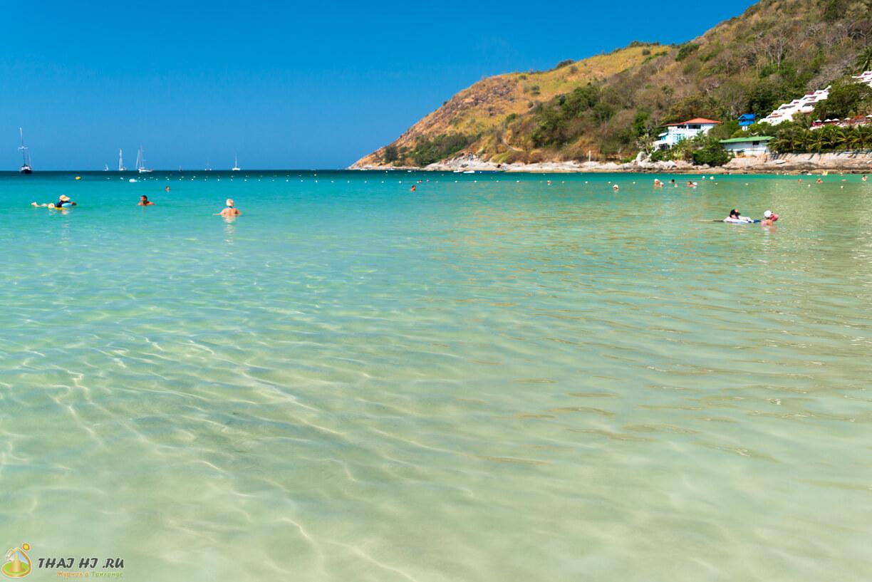 Пхукет - фото пляжа Най Харн