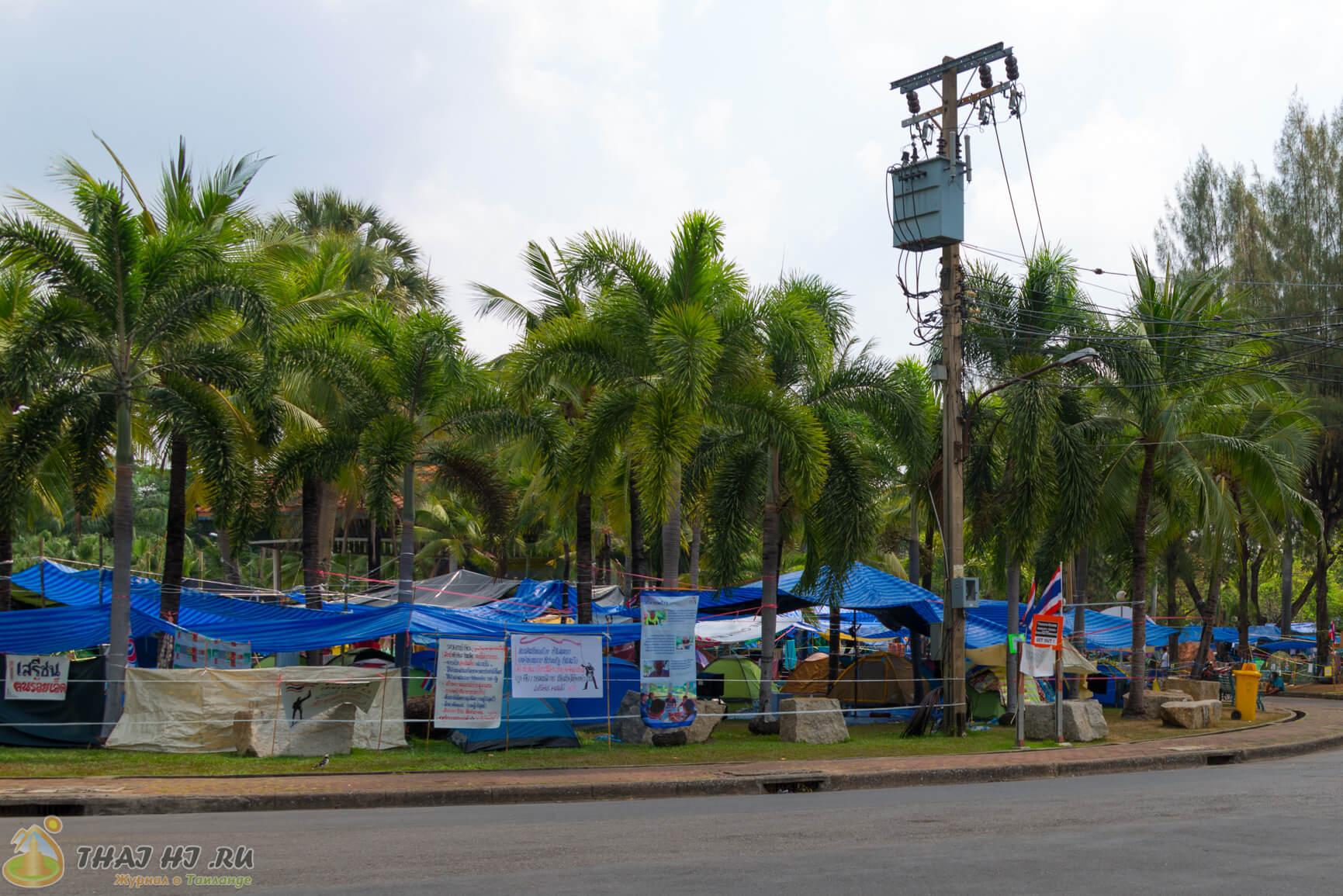 Фото в парке Люмпини в Бангкоке