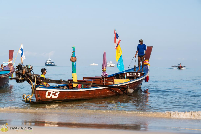 Длиннохвостые лодки на Патонге