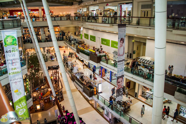 Магазины на 4м этаже Централ Фестиваль на Пхукете
