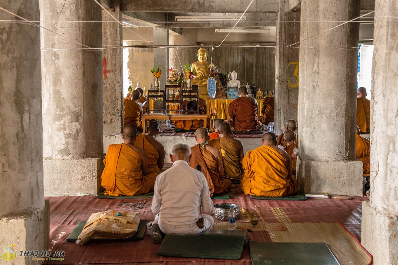 Храм внутри Большого Будды Пхукет