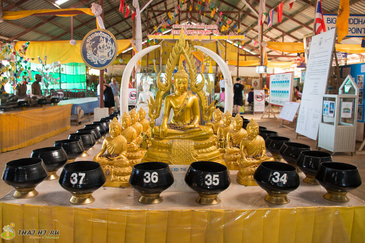 Большой Будда - сбор пожертвований
