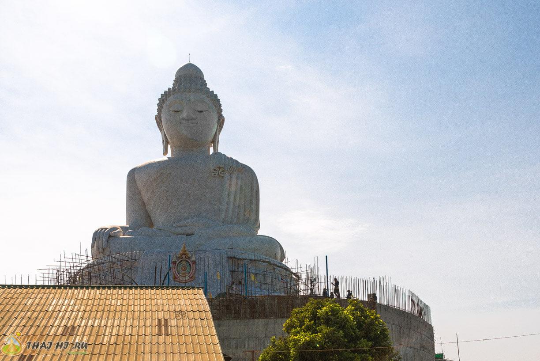 Белый Будда на Пхукете
