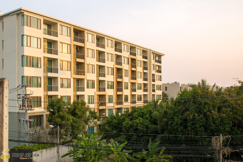 Из окна Hua Hin Tour Guesthouse