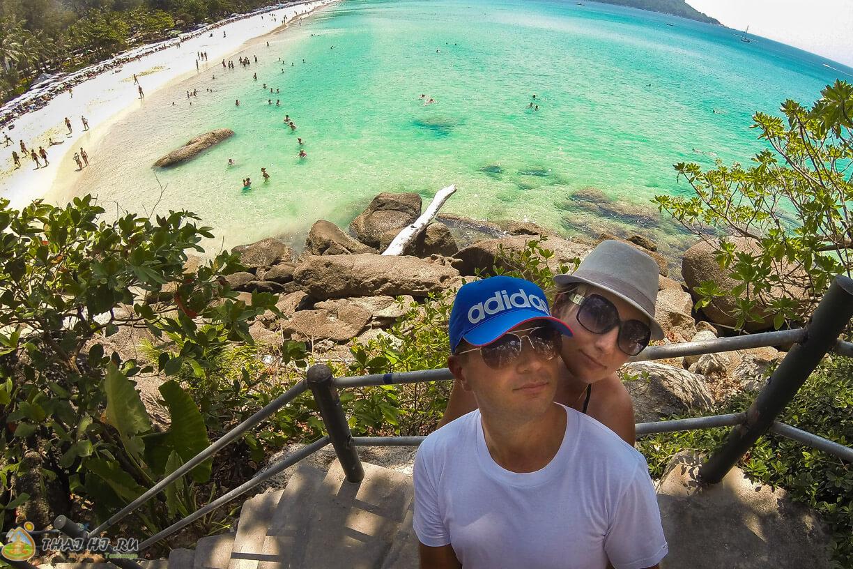 Пляж Ката Ной - фото туристов