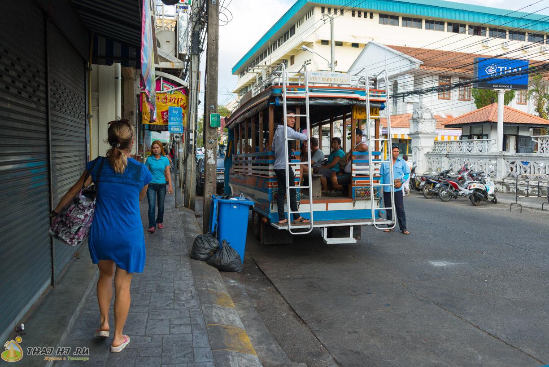 Автобус на Карон Бич из Пхукет Тауна