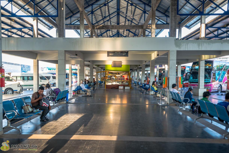 Автовокзал на Пхукете