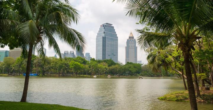 Парк Люмпини в Бангкоке - 2014