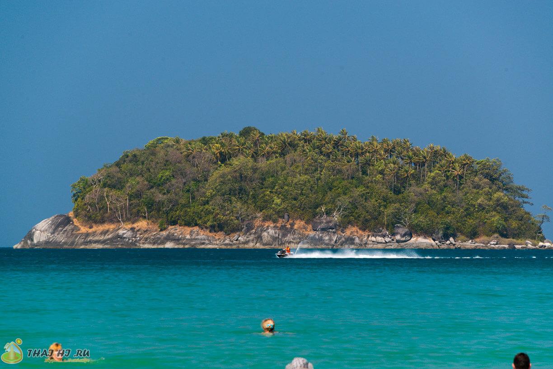 Остров возле Ката Бич Пхукет