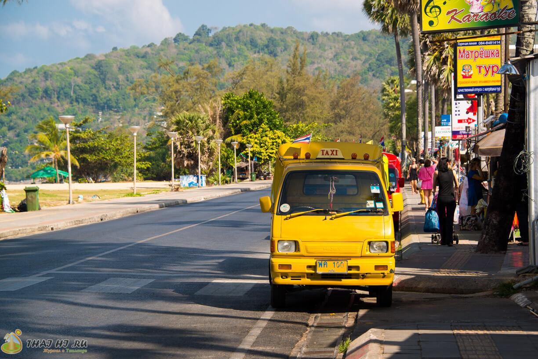 Фото Пхукета: такси на Карон Бич