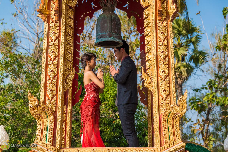 Брачный обряд Пхукет Таиланд