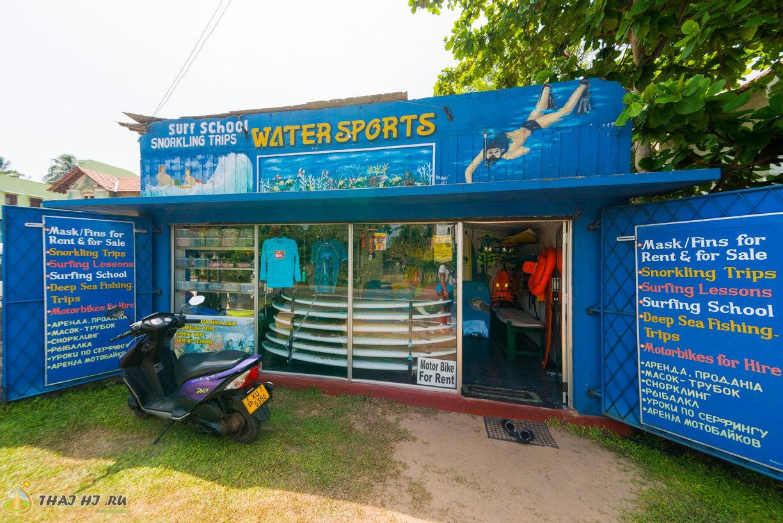 Школа дайвинга и серфинга в Хиккадуве