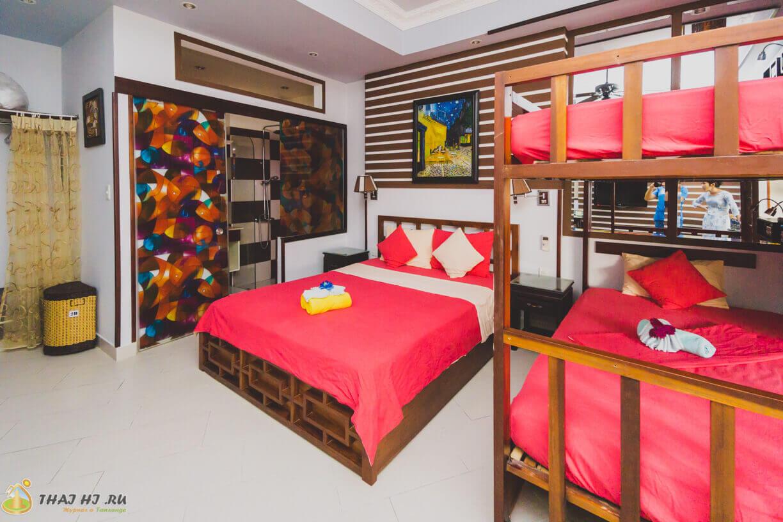 Квартира студия в Нячанге - 6 спальных мест